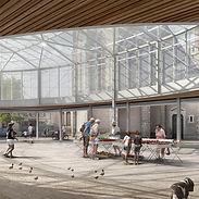 Véronique Joffre Architecture - Halle et aménagement urbain Caussade