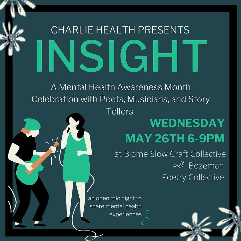 Open Mic Night : Charlie Health