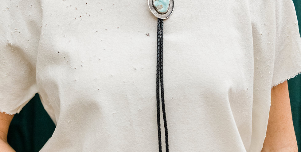 Ciara Easterling Turquoise Nugget Bolo