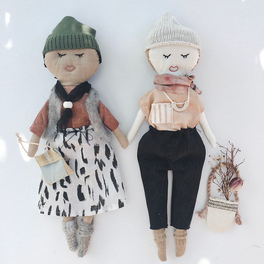 Heirloom Doll Workshop with Local Earth Studios