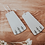 Thumbnail: Fern Dangle Earrings : Third Hand Silversmith