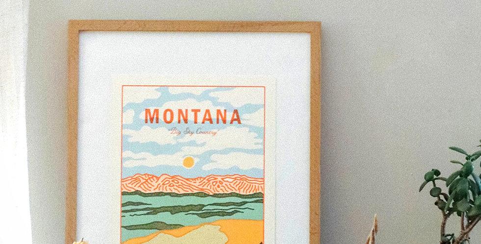 Big Sky Country Print : Here Studios