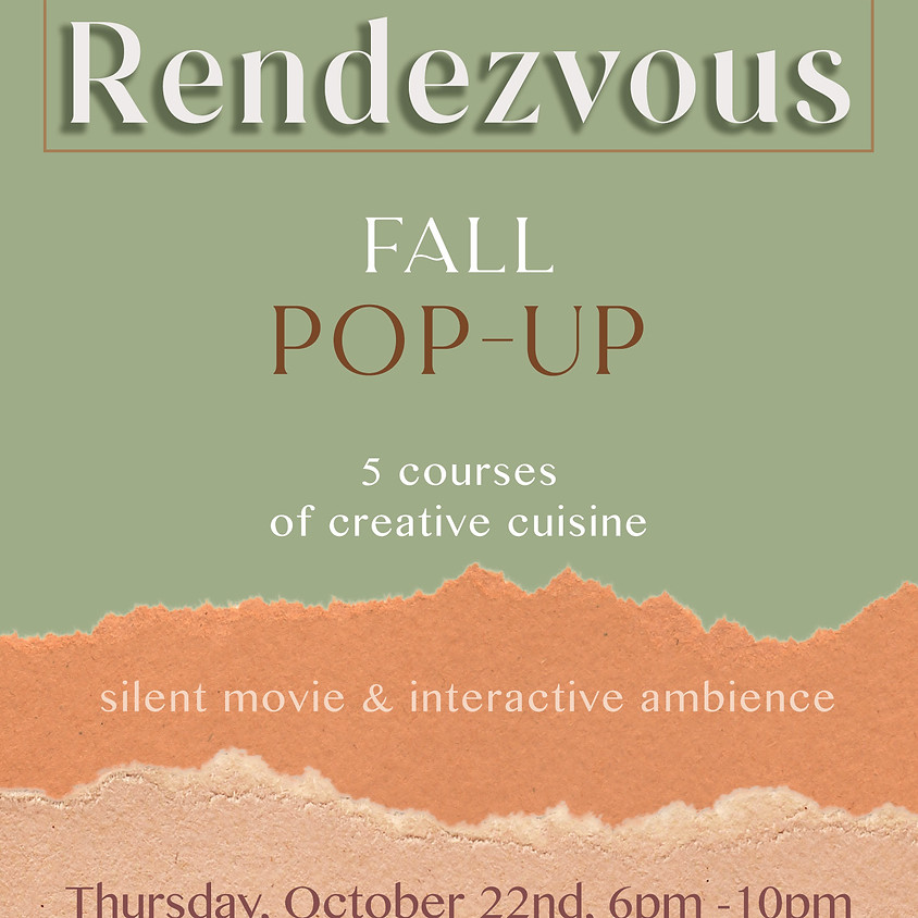 Rendezvous 5 Course Dinner