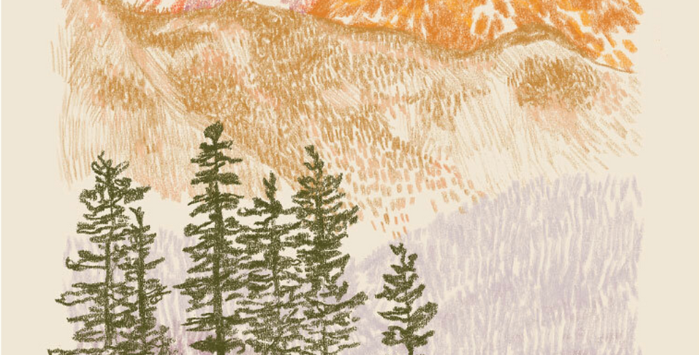 Summit Daydream Print : Here Studios