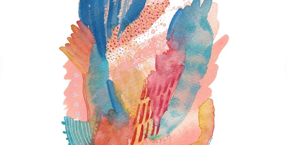 Kablab Print : Coral