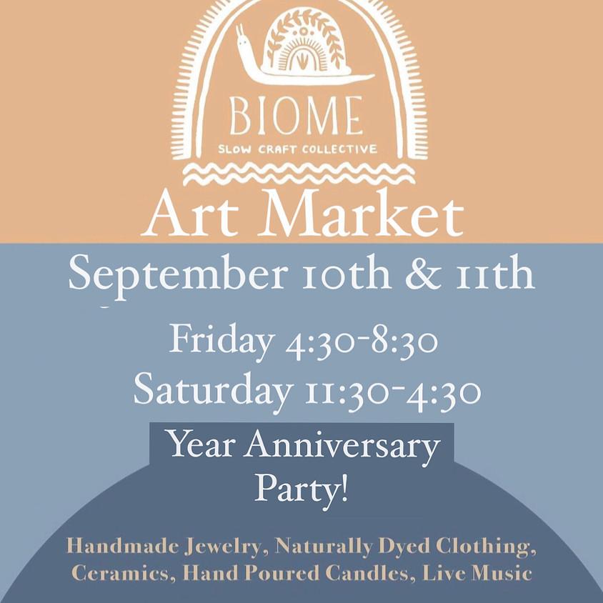 September Art Market : Year Anniversary