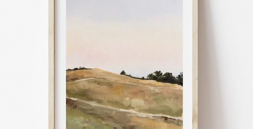 Golden Hills Print
