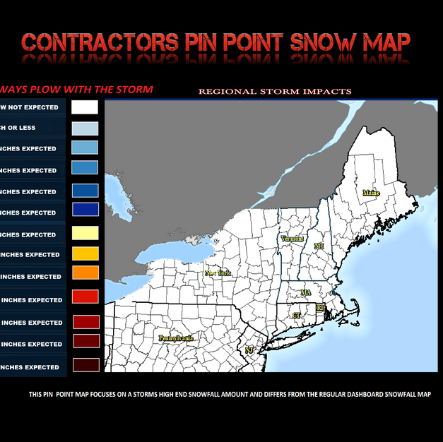 CONTRACTORS PIN POINT SANOW MAP