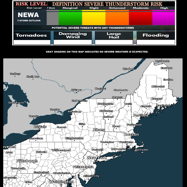 EXPECTED T STORM MAP
