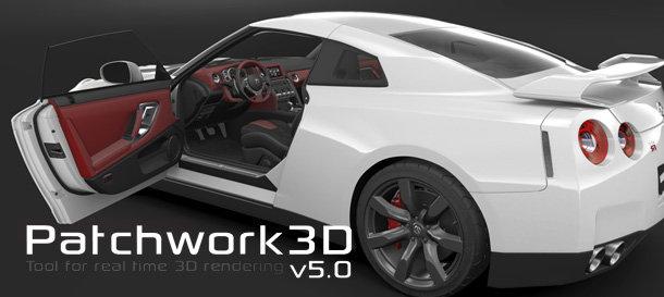 Patchwork 3D 即時渲染引擎
