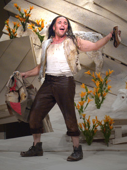 Autolycus in A WINTER'S TALE