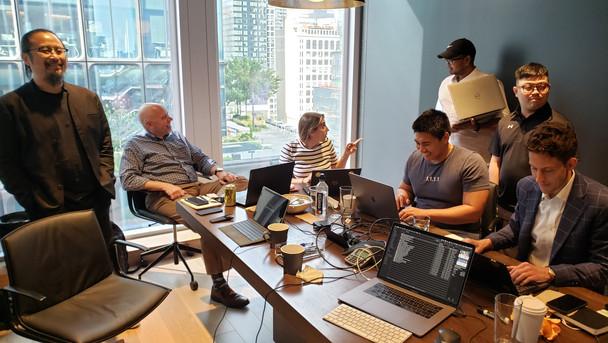Team at Hudson Yards