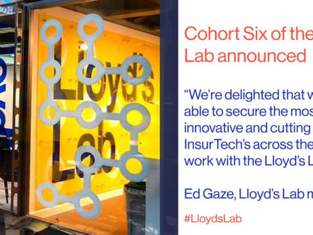 Lloyd's Lab announces its sixth cohort with a focus on product simplification and climate