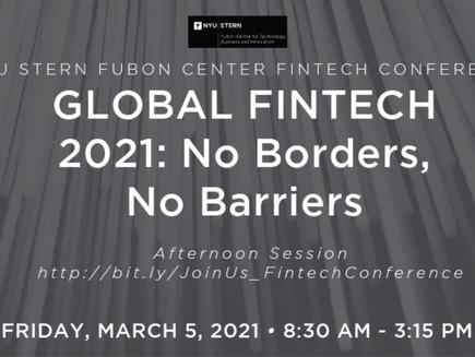 NYU Stern School of Business' Fintech Conference 2021