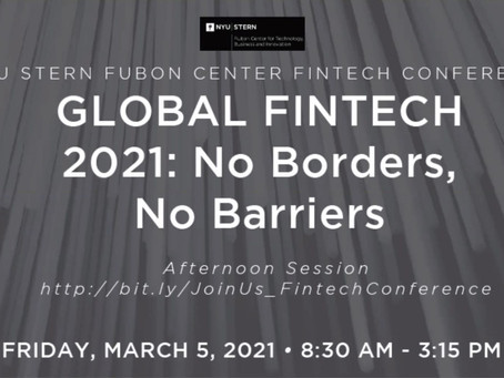 NYU Stern School of Business' Fintech Conference 2021