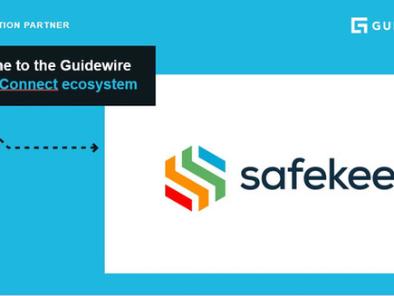 Guidewire welcomes Safekeep as its newest PartnerConnect solution