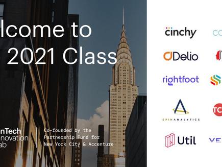 Fintech Innovation Lab announces class of 2021