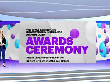 Efma and Accenture announce winners of Innovation in Insurance Awards 2020