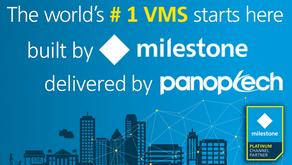 Panoptech is now Milestone Platinum!