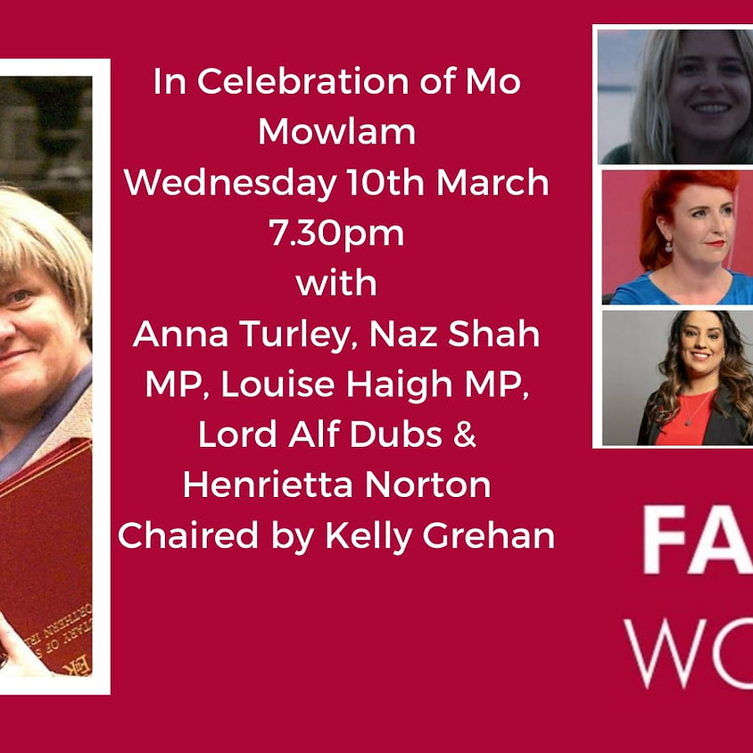 Women in history: in celebration of Mo Mowlam