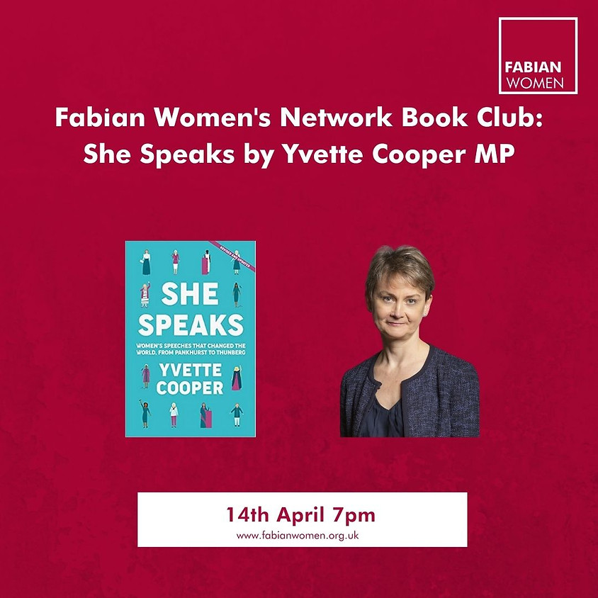 FWN Book Club with Yvette Cooper MP