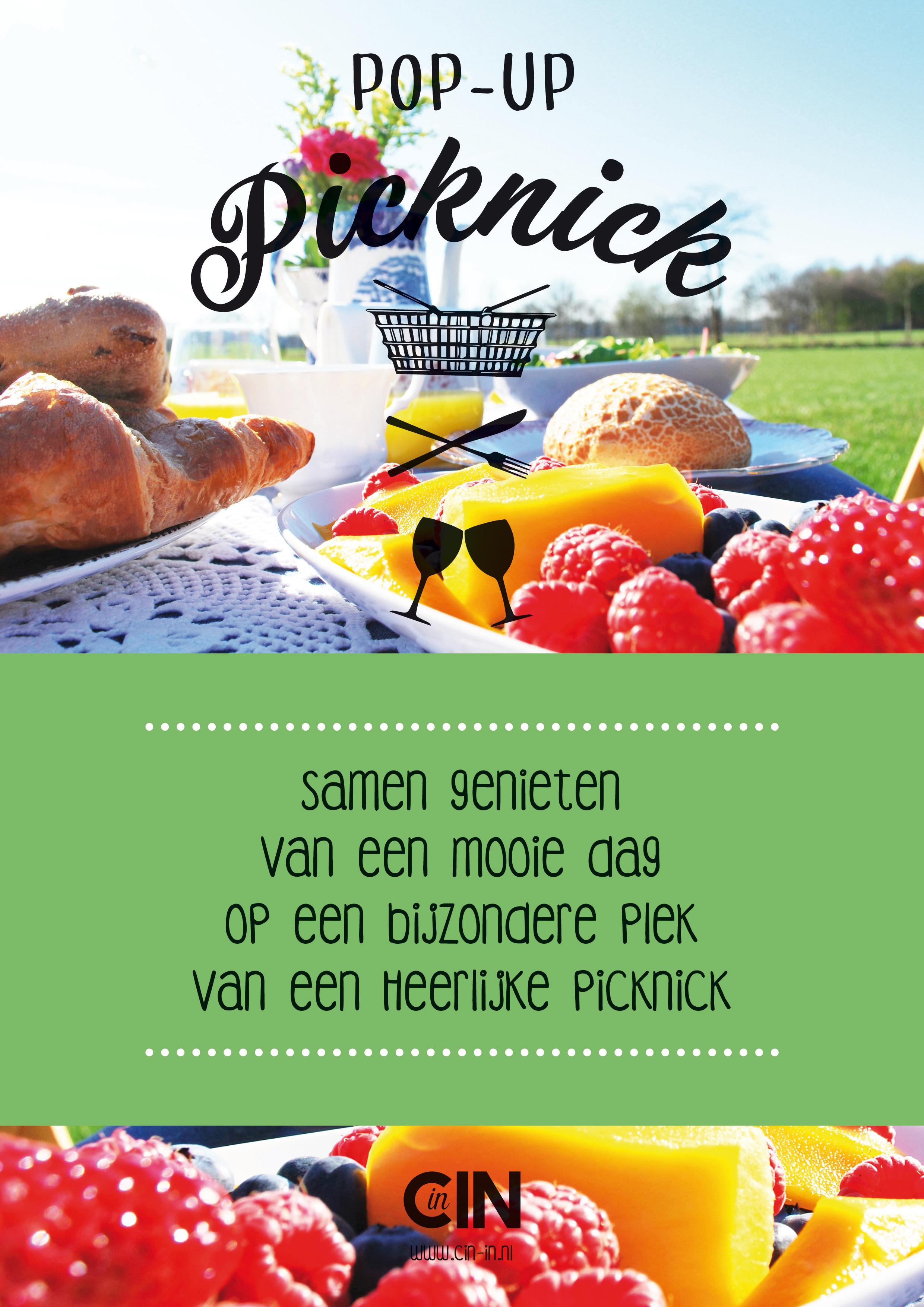 Poster pop-up-picknick