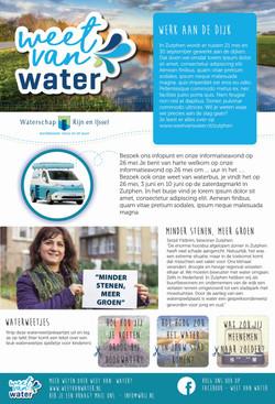 Adv Weet van water