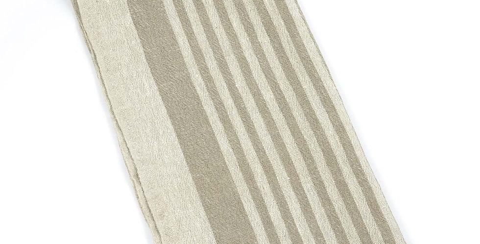 Linen Tea Towel - Beige Tread