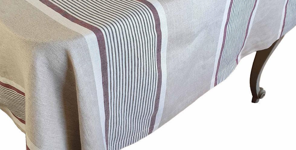 French Linen Tablecloth - Campagne