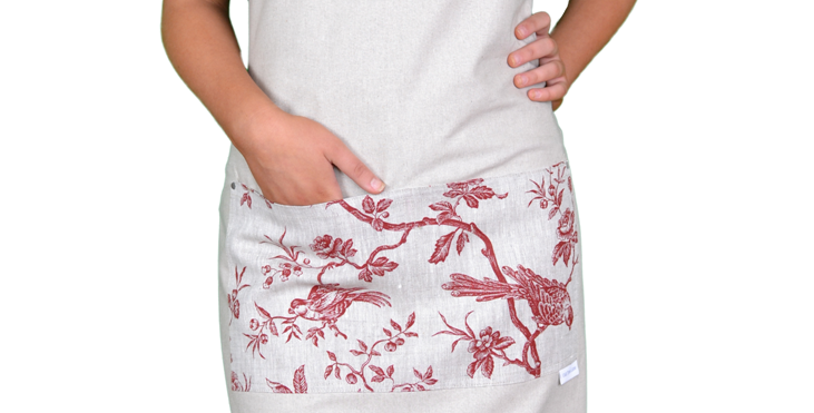 Apron - Toile Rouge