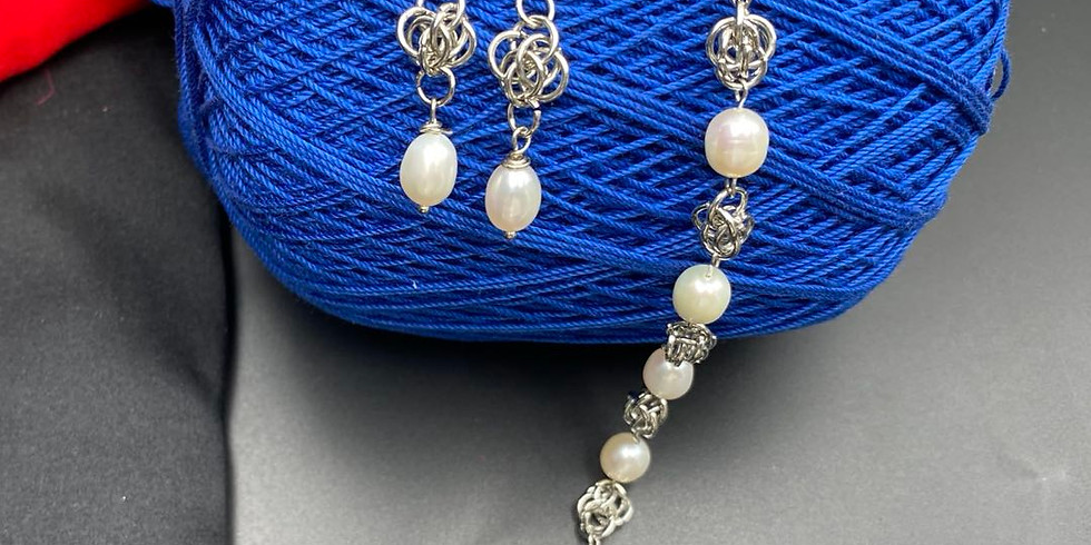 The Art of Wire Jewelry – Chainmaille part 2 (ring to ring)