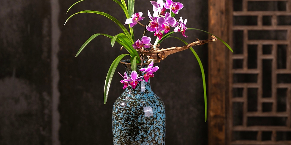 Chinese Flower Arrangement-Tube Flowers