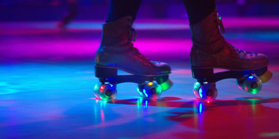 Roller-skating at Tank Shanghai Art Center