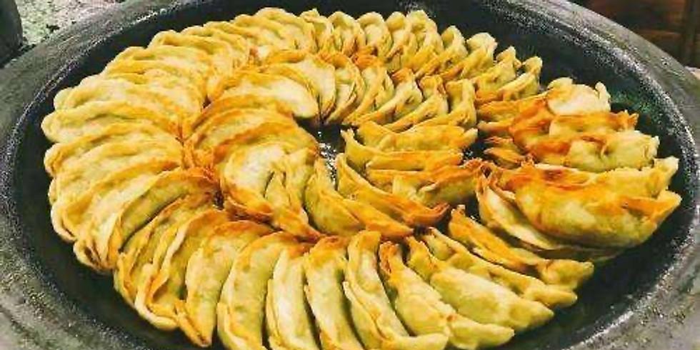 Fried Dumplings and Shanghai Fried Noodles