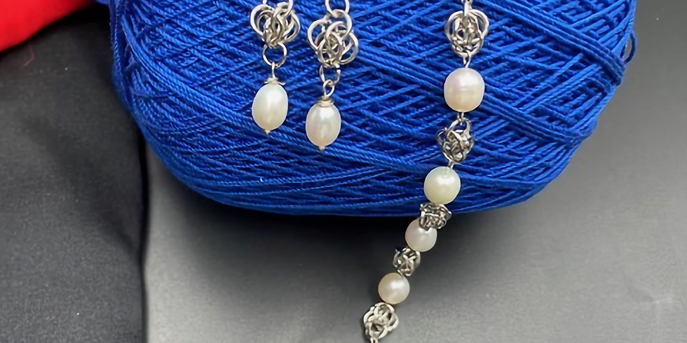 The Art of Wire Jewelry – Chainmaille (ring to ring)
