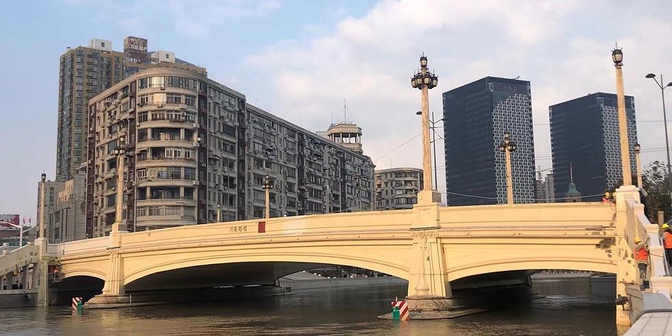Contrastsalong SuzhouCreek