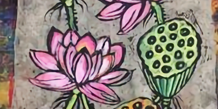 Mixed-Media Painting Workshop - Water Lily - To be rescheduled in 2020!