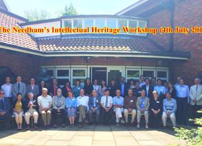 The 2015 Needham's Intellectual Heritage Workshop - NRI, Cambridge