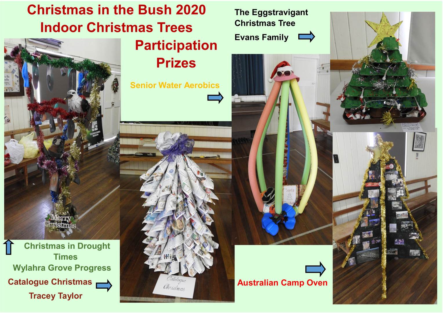 Indoor Christmas Trees - Participation P