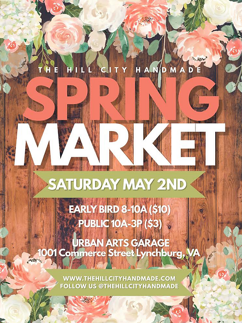 2020 Spring Market Early Bird Ticket