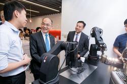 robotic arm coffee machine in INDEX