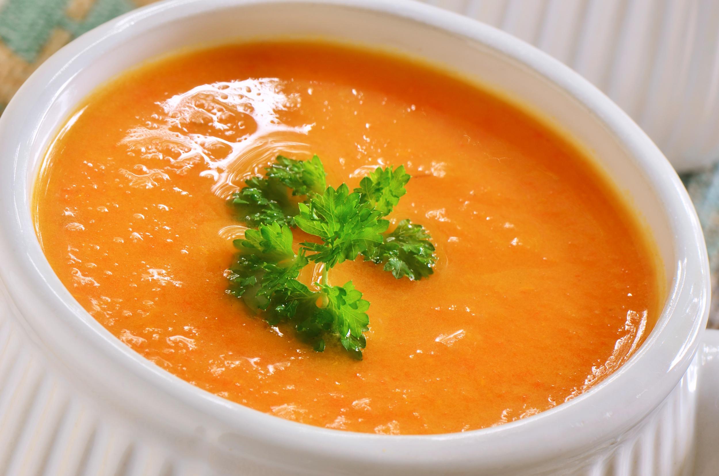 Sopa creme anti inflamatória