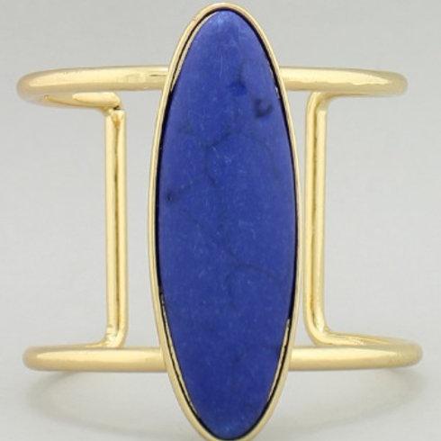 Oval Medallion Cuff