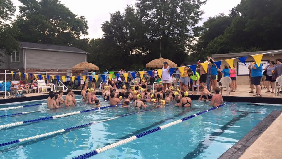 Bullsharks pre-swim meet