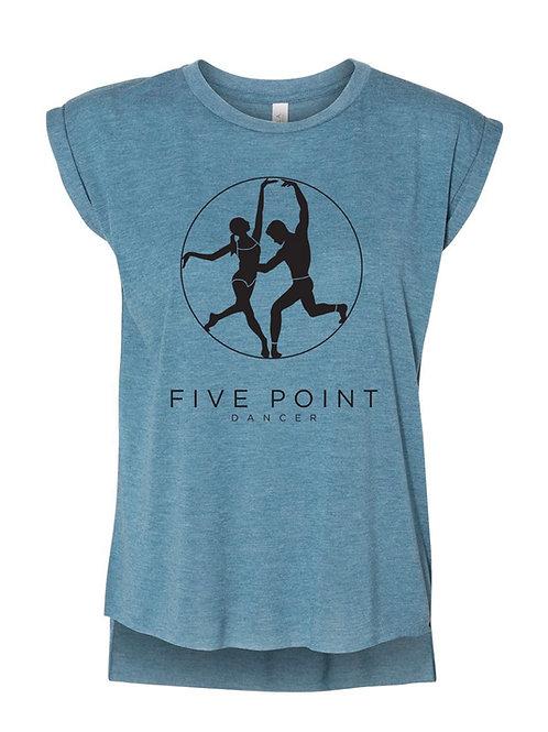 Denim Blue Muscle Shirt