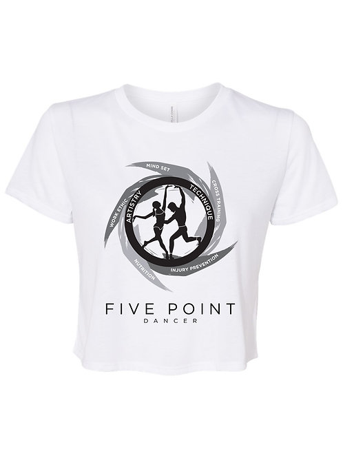 Five Point Dancer Cropped Tee