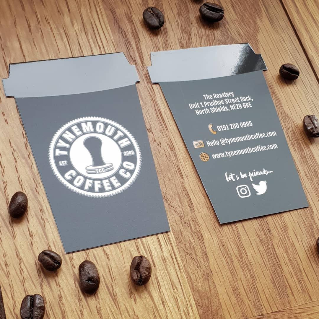 tynemouth coffee graphic design