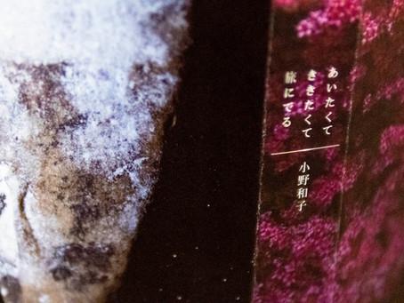 小野和子「あいたくて ききたくて 旅にでる」出版