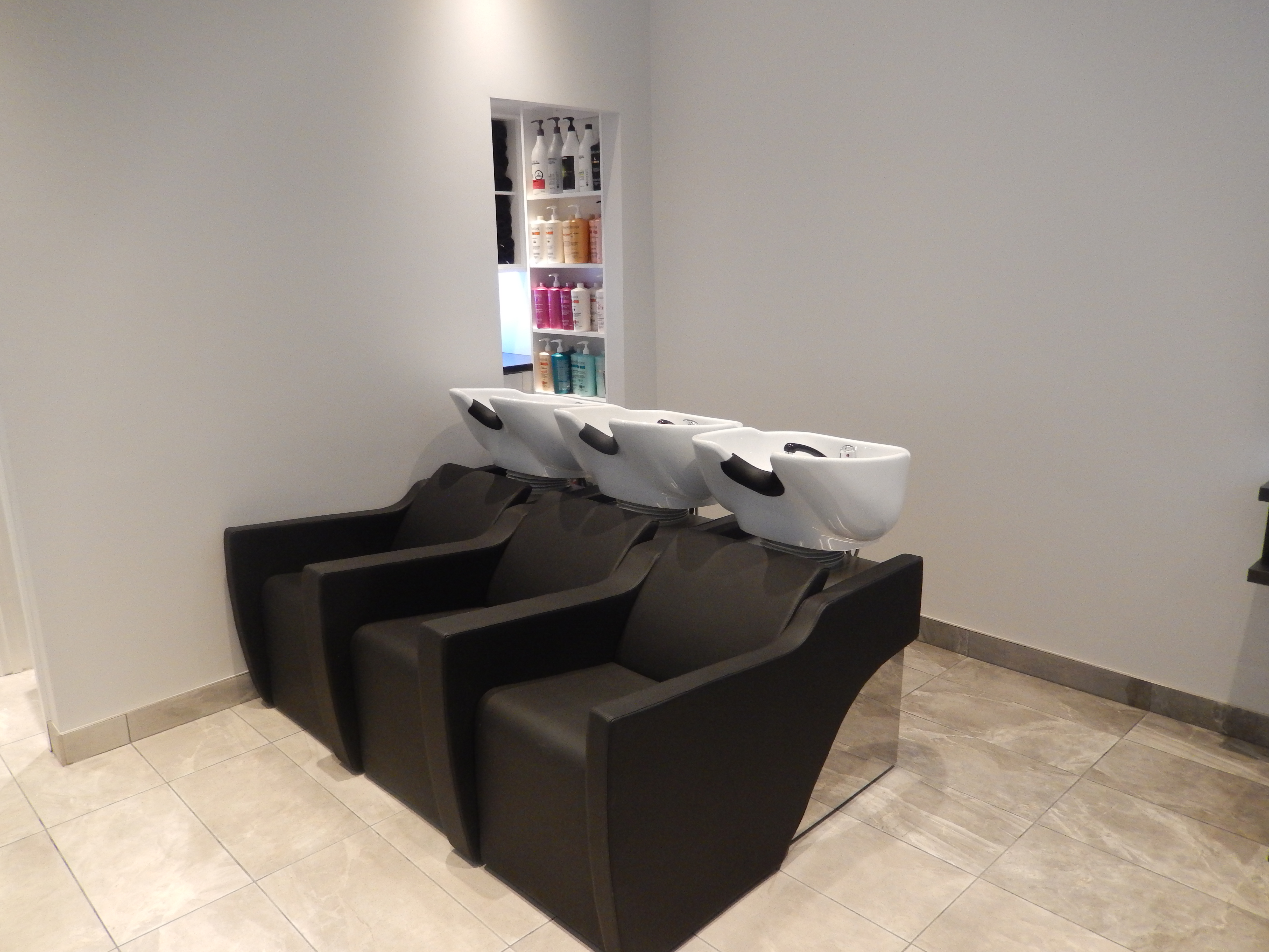 Salon Backwash area