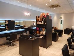 Salon Reception and Retail